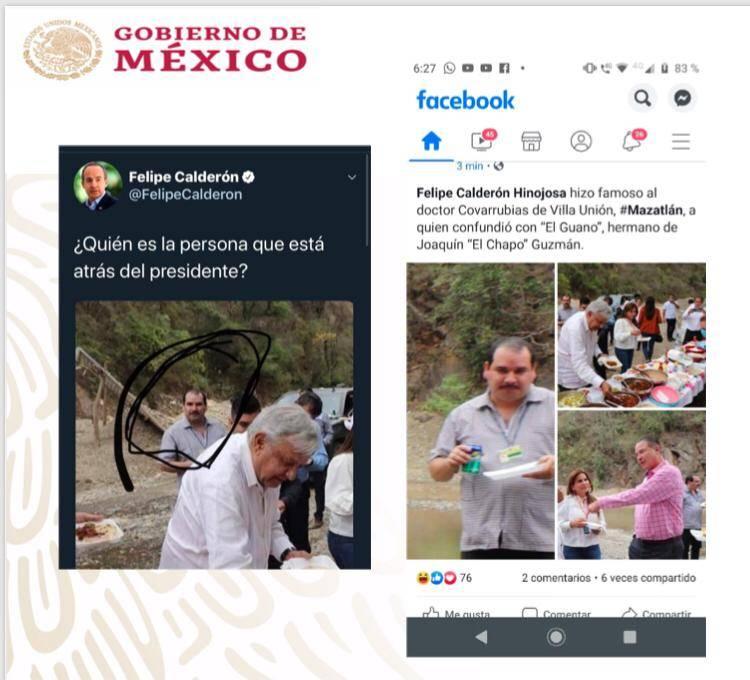 """Desmienten que AMLO haya comido con hermano de """"El Chapo"""""""