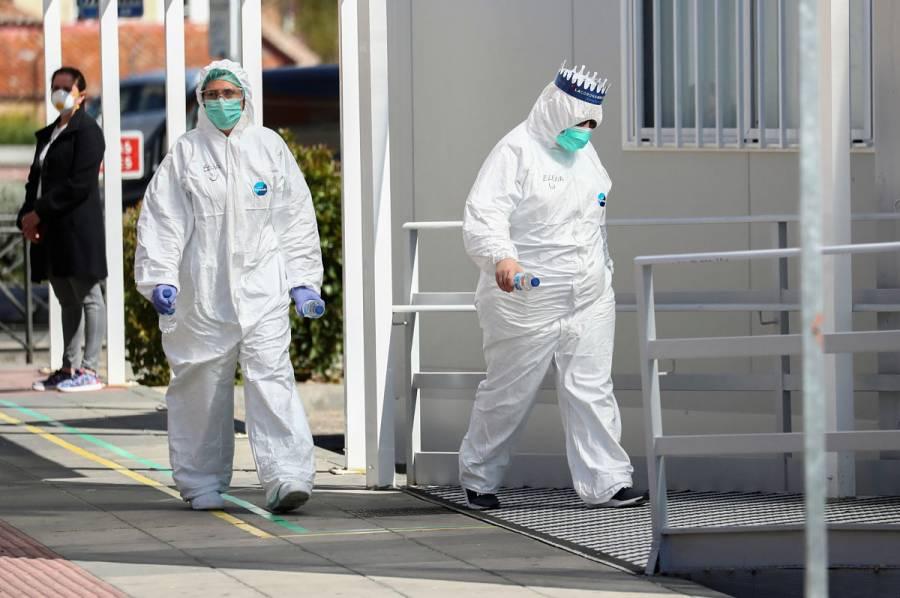 España suma 849 muertos por Covid-19, cifra récord en un día