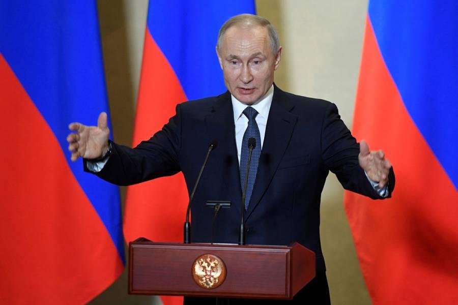 Revelan que a Putin le realizan constantes pruebas de coronavirus