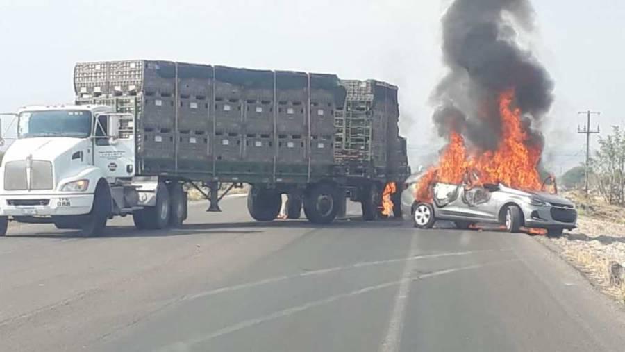 Siete muertos dejan enfrentamientos y bloqueos en Celaya, Guanajuato