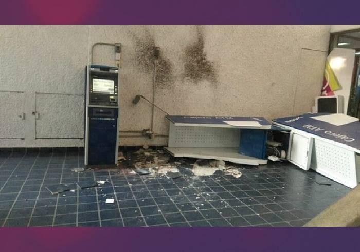 Detienen a tres sujetos tras robar cajero automático en instalaciones de la alcaldía GAM