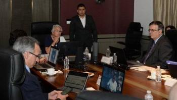 Revisan gobernadores y gabinete acciones ante COVID-19