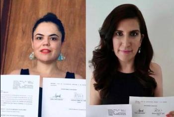Presentan senadoras queja ante la CNDH por falta de pruebas para Civid-19