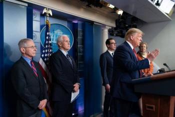 Donald Trump: Vamos a pasar dos semanas muy duras por el coronavirus