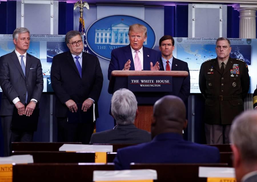 Trump ordena despliegue militar para combatir cárteles por abusos durante el Covid-19