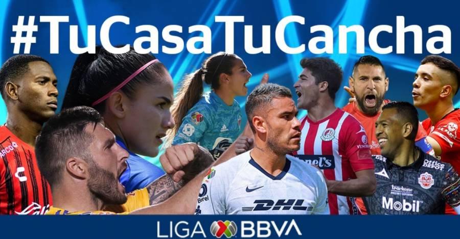 Liga MX lanza campaña #TuCasaTuCancha