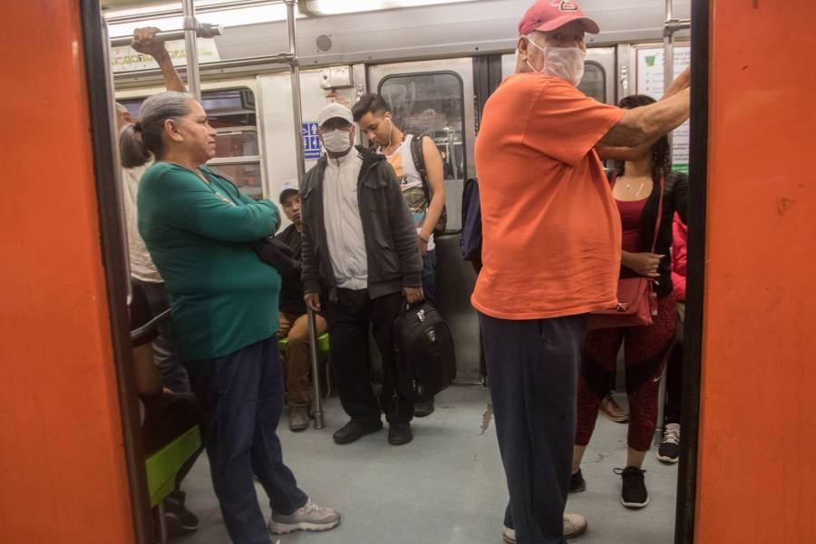 Metro no se pude detener por pandemia: AMLO