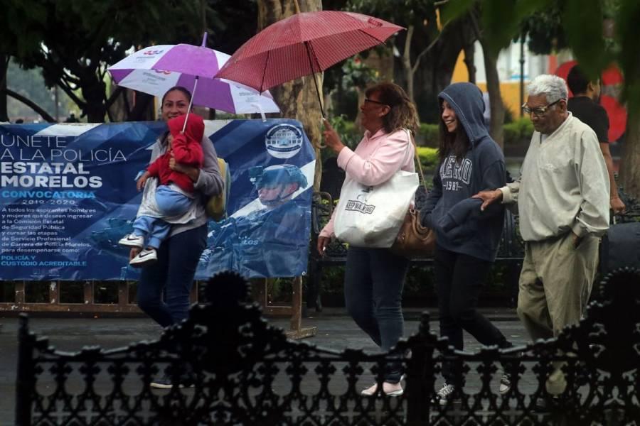 Pronostican lluvias fuertes en sureste y oriente del país