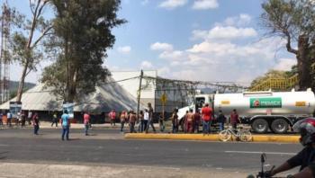 Hieren a reportera mientras cubría un bloqueo en Michoacan