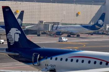 Cancela Aeroméxico al menos nueve vuelos nacionales