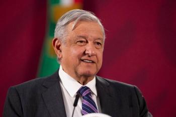 Dice AMLO que se combate pandemia sin afectar base económica del país