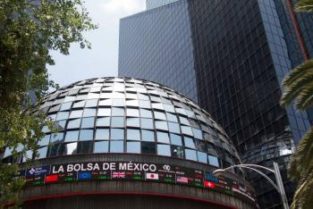 Bolsa mexicana cae por ola de nerviosismo ante coronavirus