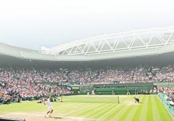 Después de 73 años vuelven a apagar las luces de Wimbledon