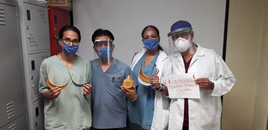 Mexicano contra Covid-19 crea protector sanitario hecho de recursos renovables