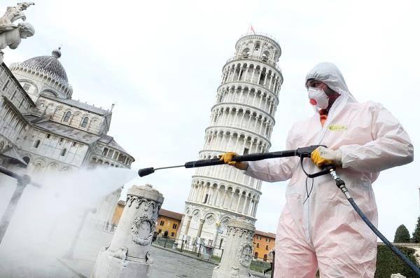 Se reduce el número de víctimas por Covid-19 en Italia