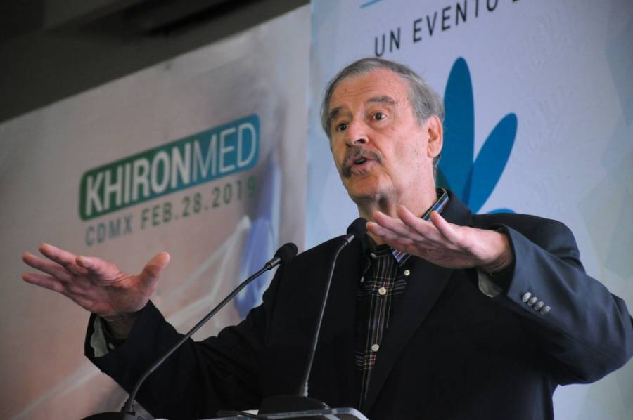 Vicente Fox presenta plataforma sobre marihuana medicinal