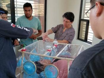 Doctora del IMSS crea cápsula de PVC para pacientes con Coronavirus