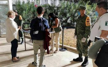 Ejercito Mexicano resguarda almacenes que opera el IMSS