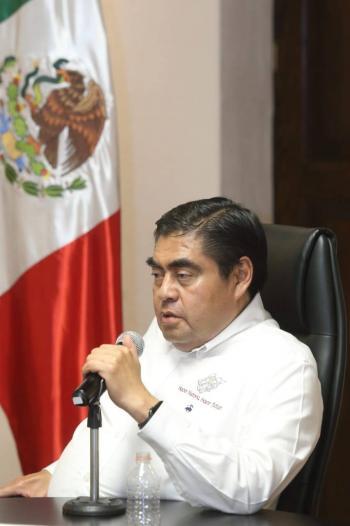Miguel Barbosa da golpe contra el narco en el centro de Puebla