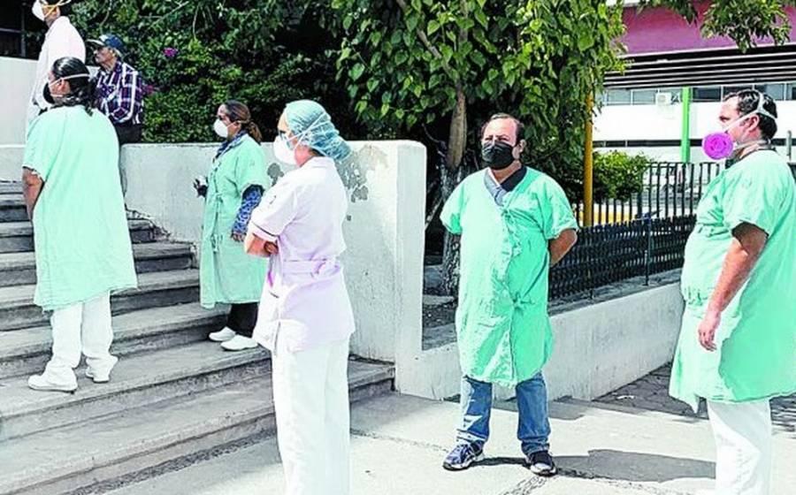 En IMSS de Monclova el brote de Covid-19 infecta a personal médico
