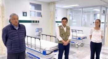 AMLO presenta nuevo hospital en CDMX, será para atender Covid-19