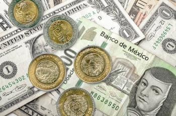 Peso cierra cayendo 6.06%; dólar se cotiza en 25.21
