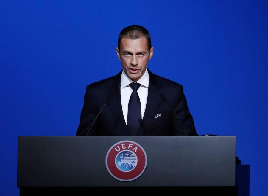 Champions y Europa League deben finalizar en agosto: Ceferin
