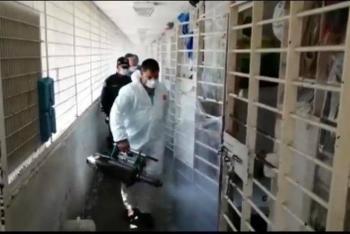 Comienza limpieza y sanitización de reclusorios en la CDMX