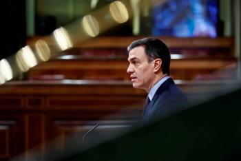 Pedro Sánchez extiende el estado de alarma hasta el 26 de abril