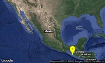 Se reportan dos sismos con magnitud mayor a 4 en Chiapas