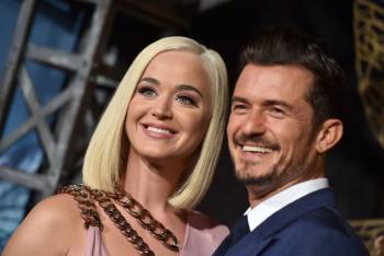 Katy Perry revela el sexo de su bebé con Orlando Bloom