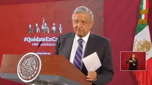 López Obrador pidió a Fuerzas Armadas luchar contra Covid-19