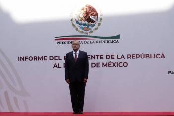 No son tiempos para la depresión, sino para la entereza, señaló López Obrador