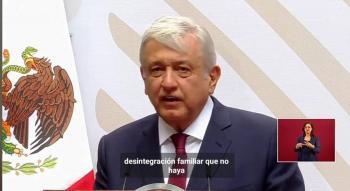 AMLO reconoce a familias mexicanas que acatan la cuarentena; informa sobre medidas económicas contra Covid-19