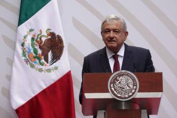Siguen adelante Santa Lucía, Dos Bocas y Tren Maya: López Obrador