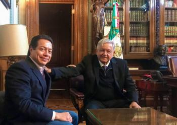 Manifiesta Mario Delgado su respaldo a las medidas anunciadas por AMLO
