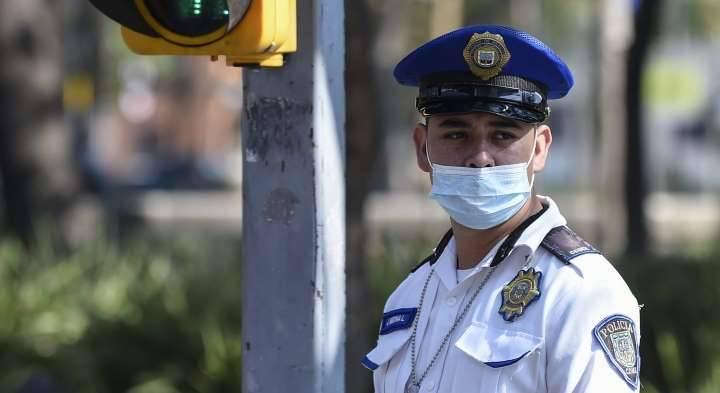 Se confirman 9 policías con COVID-19 y otros 59 sospechosos en la capital