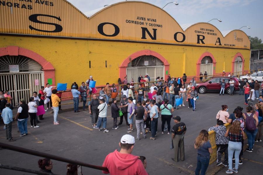 Cierran Mercado de Sonora Por pandemia