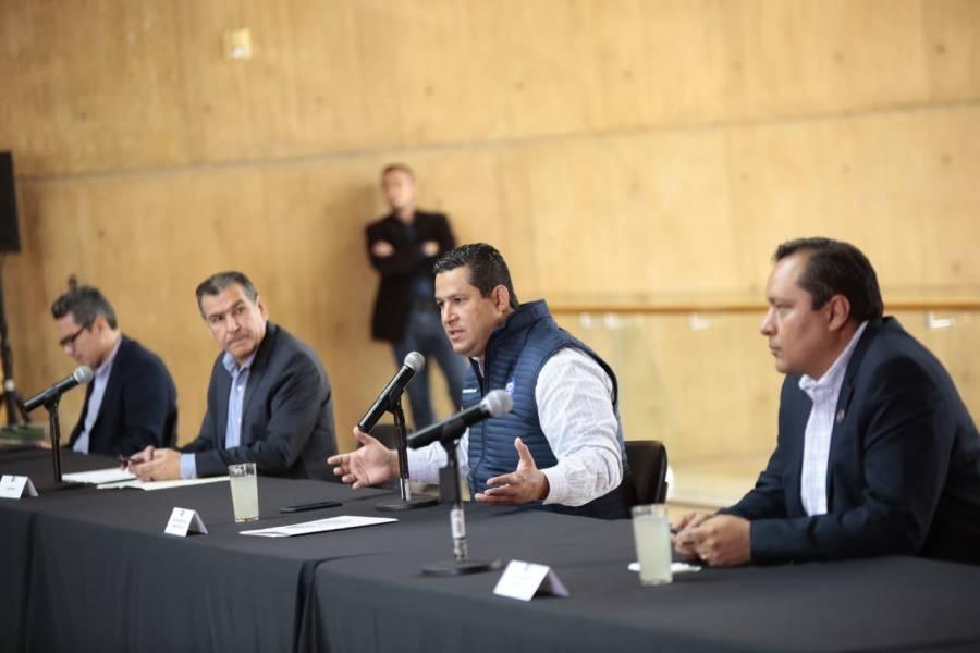 Federación reconoce a Guanajuato por acciones y normativas ante contingencia por Covid-19