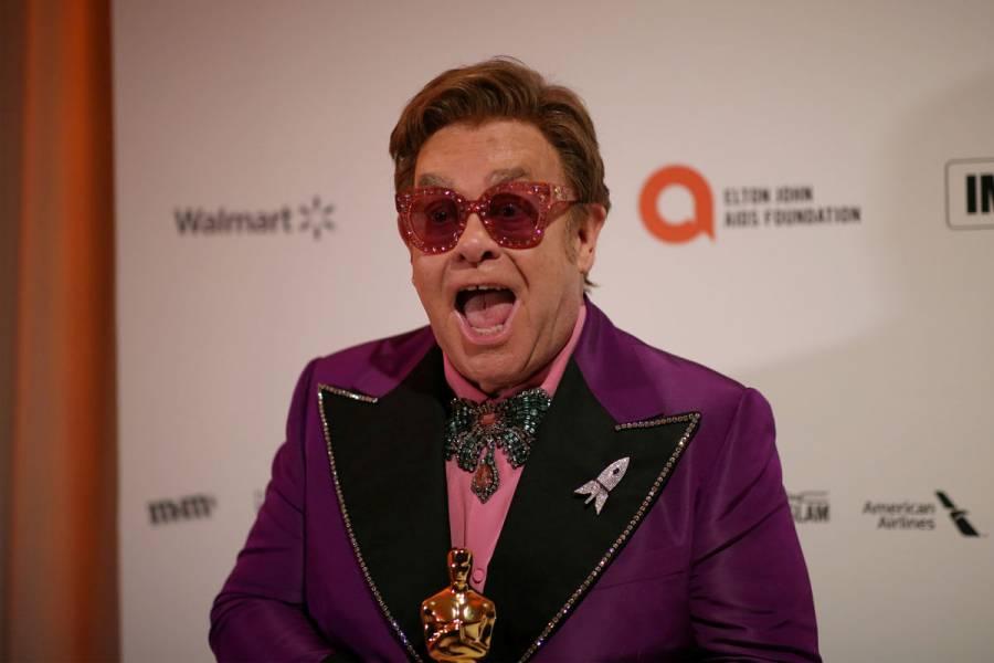 Elton John lanza fondo para proteger a personas con VIH del Covid-19