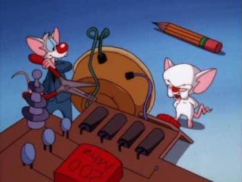A punto de volverse realidad, el regreso a las pantallas de Pinky y Cerebro