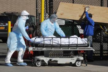 Nueva York utilizaría parques para enterrar a víctimas del Covid-19