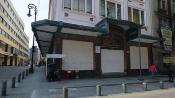 Un 93 por ciento de negocios cerrados en el Centro Histórico de CDMX
