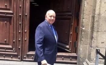 Empresarios se reúnen con AMLO en Palacio Nacional