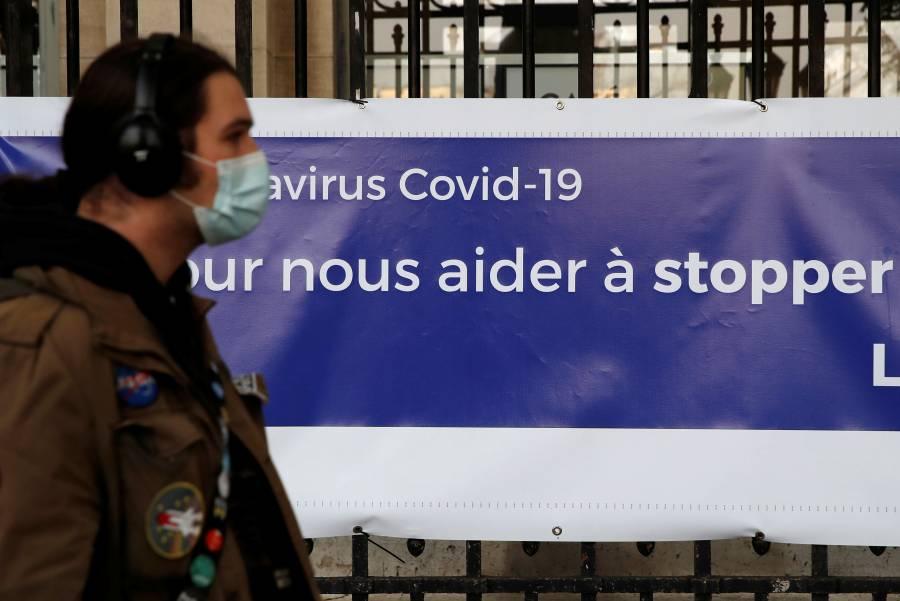 Francia reporta más de 10 mil muertes por Covid-19