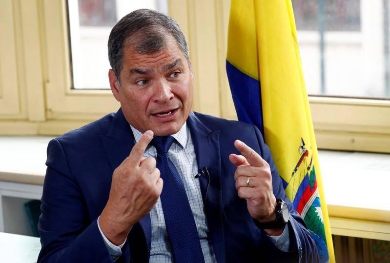 Ex presidente ecuatoriano Rafael Correa condenado a 8 años de cárcel