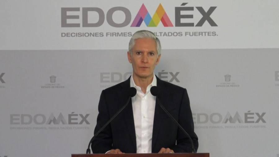 Alfredo del Mazo informa sobre avances en el Edomex para frenar Covid-19