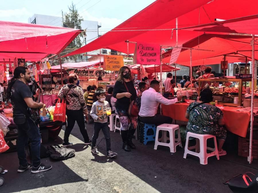 Vendedores de Tepito piden trabajar tres días por Covid-19