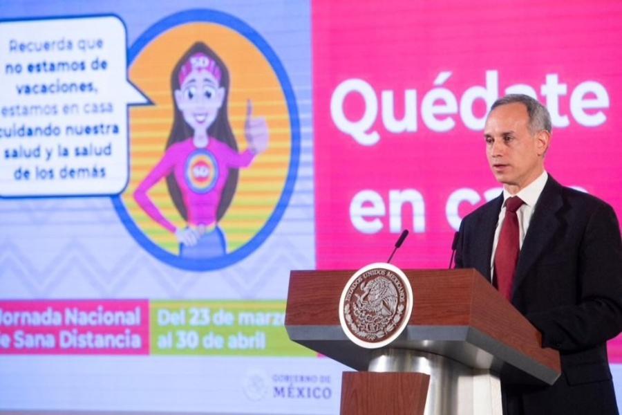 Las contradicciones del subsecretario López-Gatell