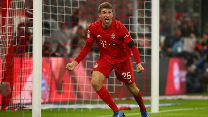 Thomas Muller renueva con Bayern Múnich por dos años